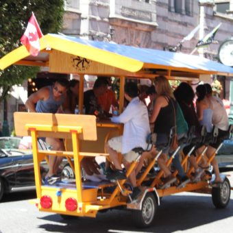 The Rolling Barrel is a pedal vehicle business in Victoria British Columbia. We run city and pub tours. Pedal laugh drink repeat.